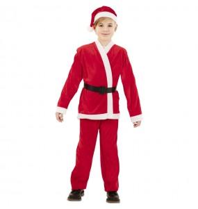 Costume da Babbo Natale rosso per bambino