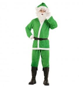 Costume da Babbo Natale Verde uomo