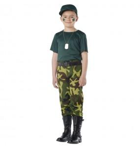 Costume da Paramilitare per bambino