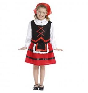 Costume da Pastorella di Natale per bambina