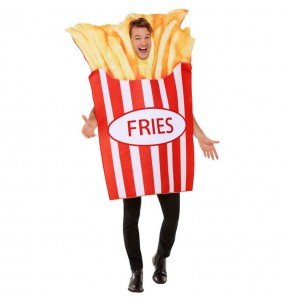 Costume da Patate Fritte per adulto