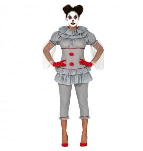 Costume da Pagliaccia assassina IT per donna