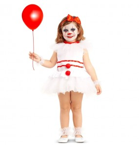 Costume da Pagliaccia diabolica IT per neonato
