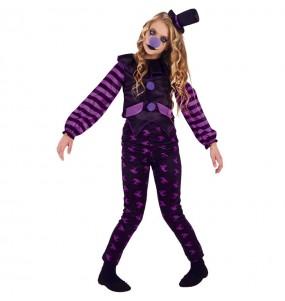 Costume da Pagliaccia malvagia per bambina