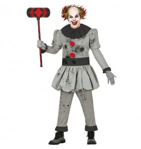 Travestimento Pagliaccio assassino adulti per una serata ad Halloween