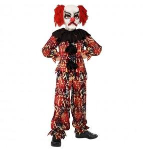 Costume da pagliaccio spaventoso per bambino