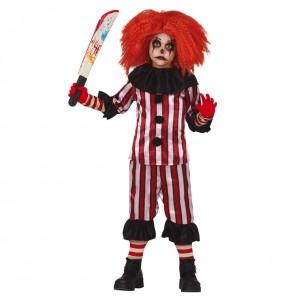 Costume da Pagliaccio Orrore per bambino