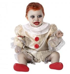 Costume Pagliaccio IT Pennywise per neonato