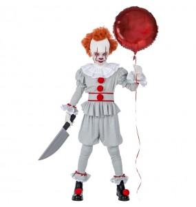 Travestimento Pagliaccio IT Pennywise bambini per una festa ad Halloween