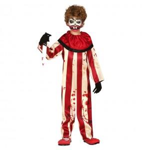 Travestimento Pagliaccio disturbato bambini per una festa ad Halloween