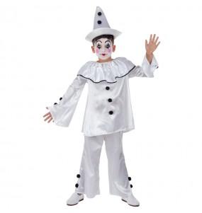 Travestimento Pagliaccio Pierrot bambino che più li piace