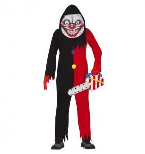 Costume da Pagliaccio Sorriso diabolico per uomo