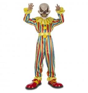 Travestimento Pagliaccio horror bambini per una festa ad Halloween