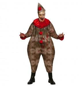 Costume da Pagliaccio Terrificante per uomo