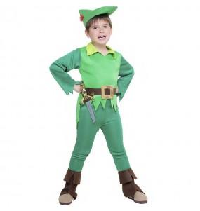Costume da Peter Pan Isola che non c'è per bambino