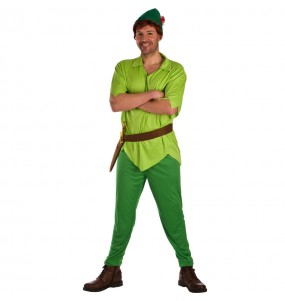 Travestimento Peter Pan Neverland adulti per una serata in maschera