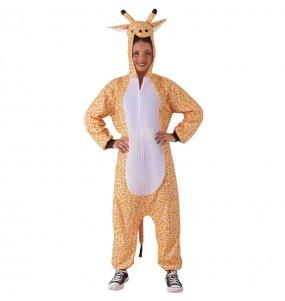 Travestimento Giapponese Pigiama Giraffa adulti per una serata in maschera