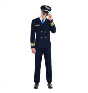 Travestimento Pilota Aeronautico adulti per una serata in maschera