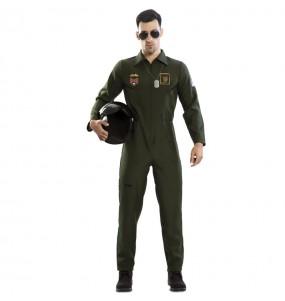 Travestimento pilota militare adulti per una serata in maschera