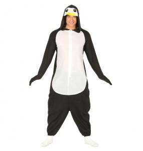 Travestimento Giapponese Pinguino Kigurumi adulti per una serata in maschera