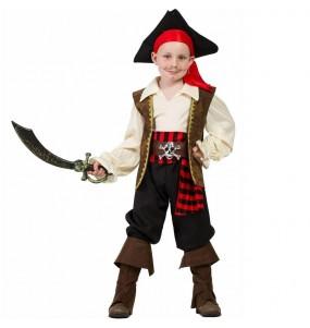 Costume da Pirata Alto Mare per bambino