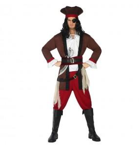 Travestimento Pirata dei Caraibi adulti per una serata in maschera