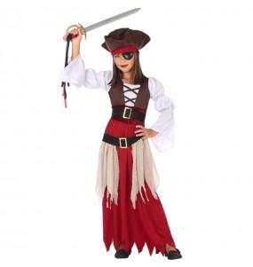 Travestimento Pirata dei Caraibi bambina che più li piace