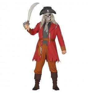 Travestimento Pirata Fantasma Salazar adulti per una serata in maschera