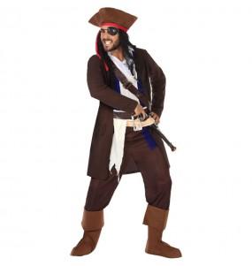 Costume da Pirata Jack Sparrow per uomo