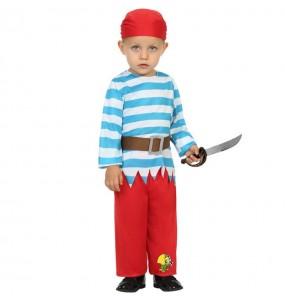 Costume da Pirata pappagallo per neonato