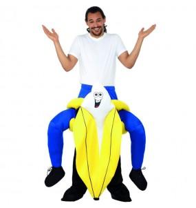 Travestimento adulto Banana a cavallucio per una serata in maschera