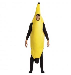 Costume da banana per uomo