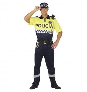 Travestimento Polizia Locale adulti per una serata in maschera
