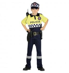 Travestimento Polizia Municipale economico bambino che più li piace
