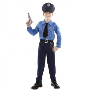 Costume da Poliziotto muscolare per bambino