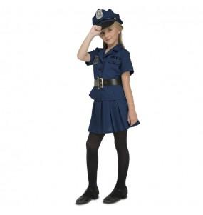 Travestimento Polizia New York bambina che più li piace