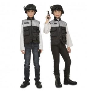 Travestimento Poliziotto Swat con accessori bambino che più li piace