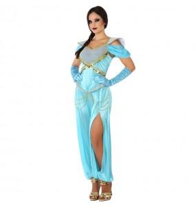 Travestimento Principessa Aladdin donna per divertirsi e fare festa