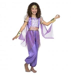 Travestimento principessa araba viola bambina che più li piace
