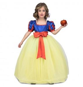 Travestimento Principessa Biancaneve deluxe bambina