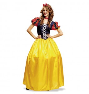 Travestimento Principessa Biancaneve donna per divertirsi e fare festa