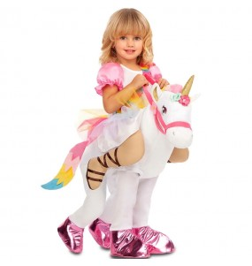 Travestimento Unicorno bambino a cavallucio che più li piace