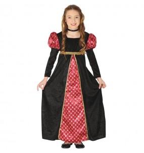 Travestimento Principessa di corte medievale bambina che più li piace