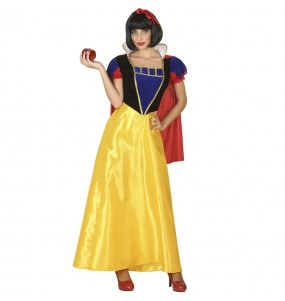 Costume da Principessa fiaba Biancaneve per donna