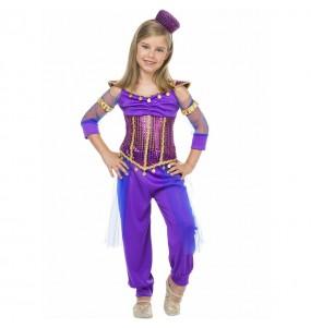 Costume da Principessa Jasmine viola per bambina