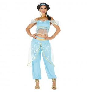 Travestimento Principessa Jasmine donna per divertirsi e fare festa