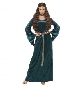 Travestimento Principessa Medievale Leonilde donna per divertirsi e fare festa