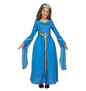 Travestimento Principessa medievale Leonor bambina che più li piace