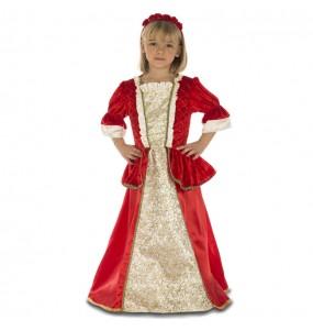 Travestimento Principessa rossa deluxe bambina che più li piace