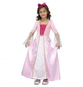 Travestimento Principessa Stelle Rosa bambina che più li piace